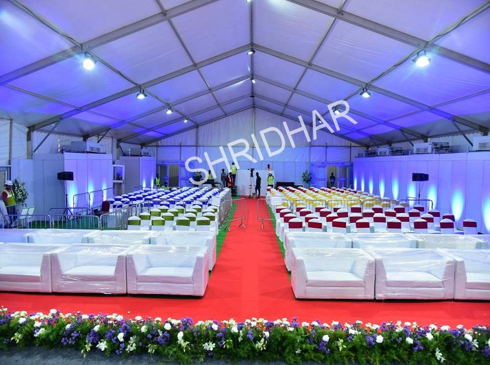 tent house services supplier tenthouse dealer in bangalore events exhibitions shridhar tent house