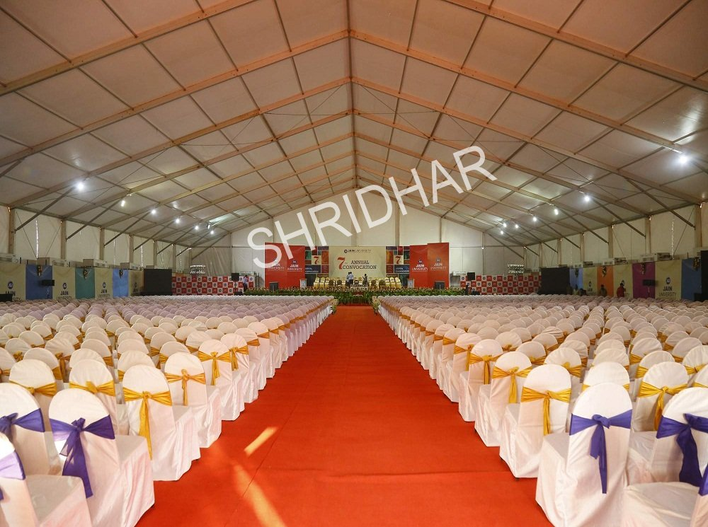 tent house supplier services in bangalore for conventions and convention centers shridhar tent house