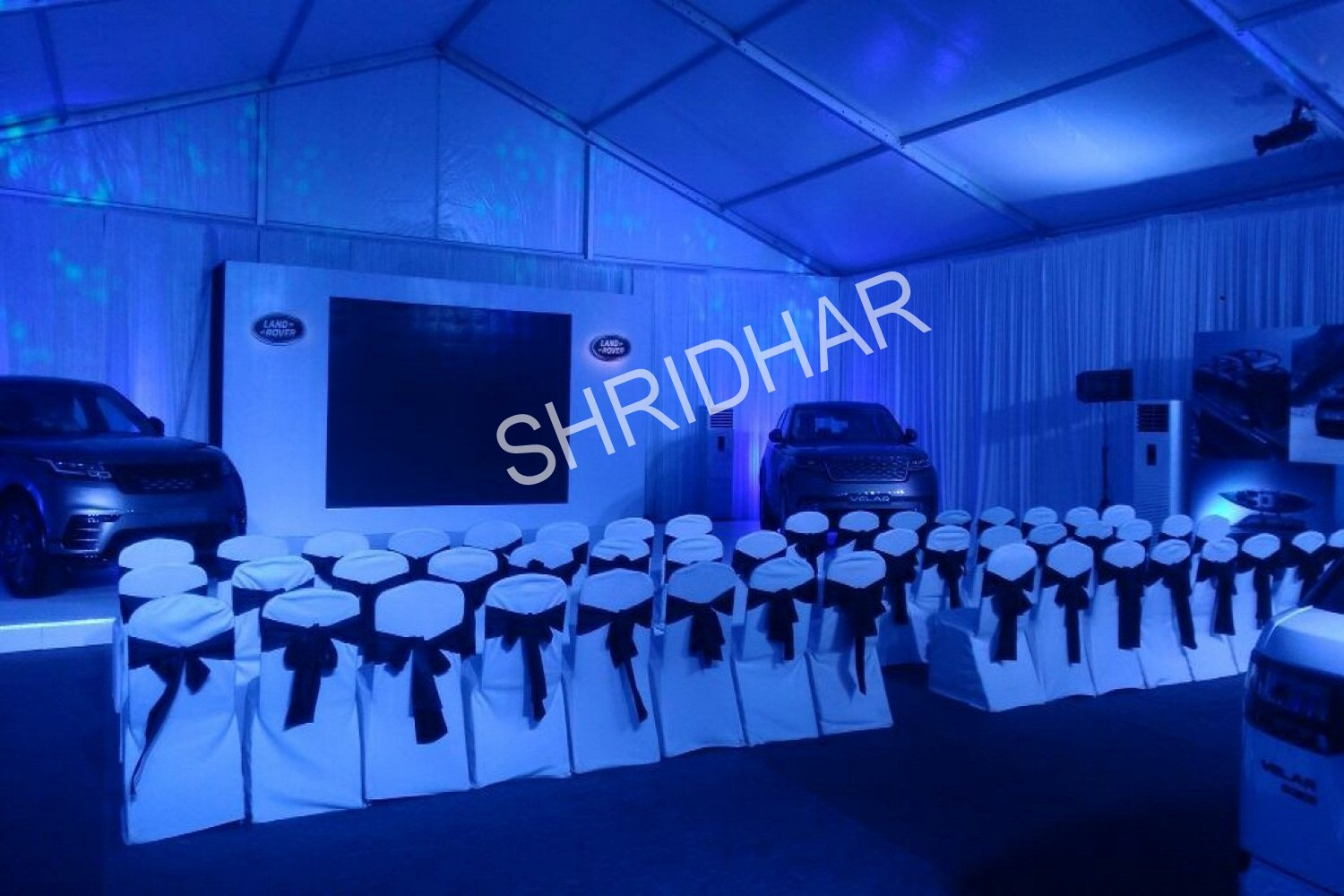 led lighting tents and chairs for rent for conferences in bangalore shridhar tent house
