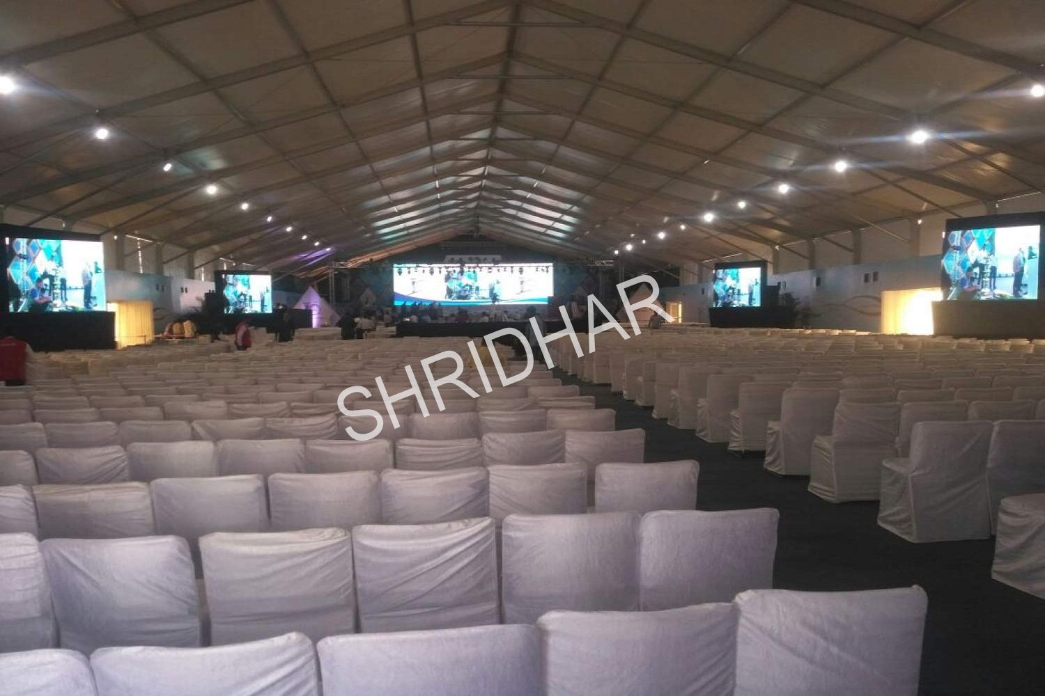 super structures german tents chairs carpets for rent for conferences in bangalore shridhar tent house