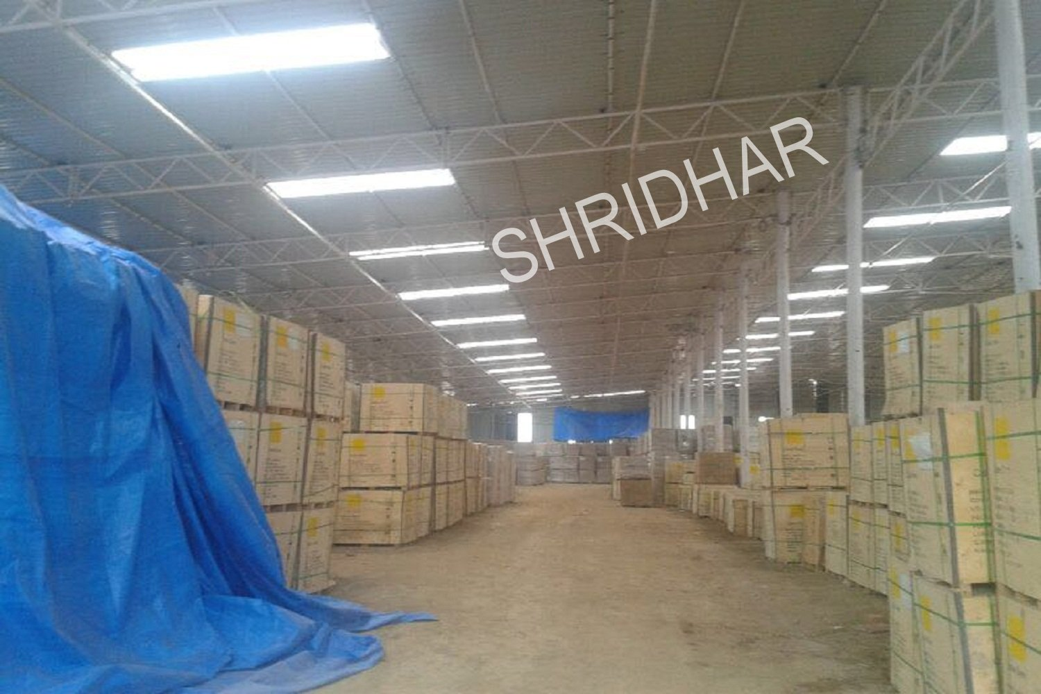 warehousing facility with quality control shridhar tent house bangalore karnataka tenthouse supplier