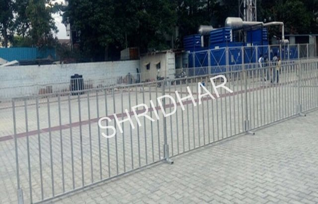 metal barricading for rent shridhar tent house bangalore