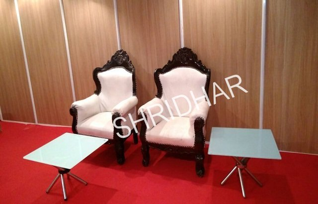 stage antique chairs for rent in bangalore shridhar tent house
