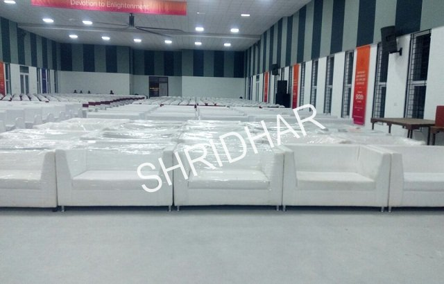 two seater leather sofas for rent shridhar tent house bangalore