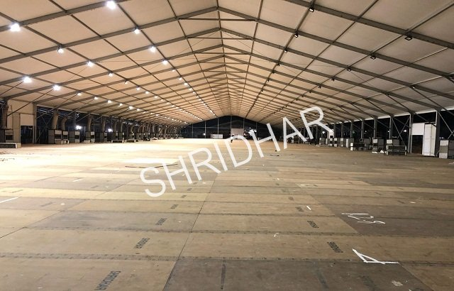 waterproof plywood platforms for rent shridhar tent house bangalore